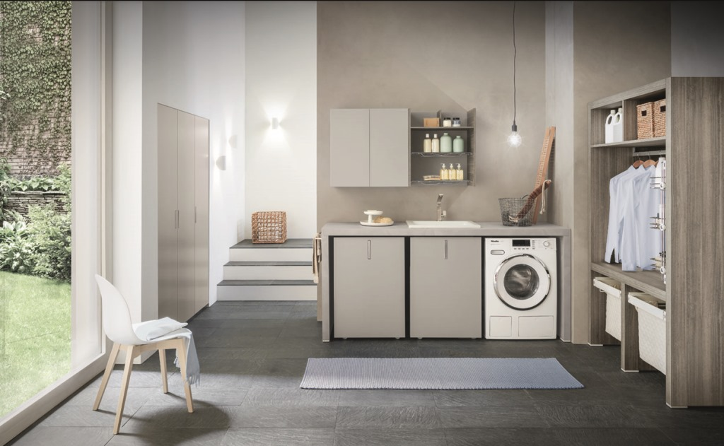 Pratiche soluzioni per lavanderie.