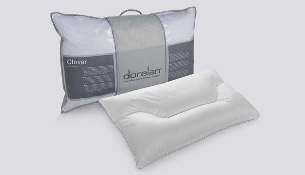 Cuscino Clover con tre sezioni di portanza diversa