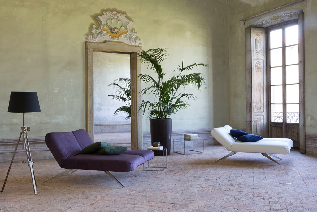 Butterfly divano - chaise longue - letto.