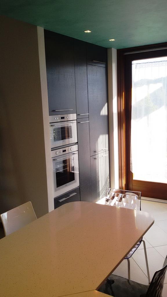 Colonna forno e microonde, dispensa e frigor